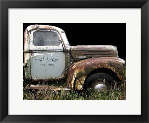 Framed 1947 Ford 1 Ton Print