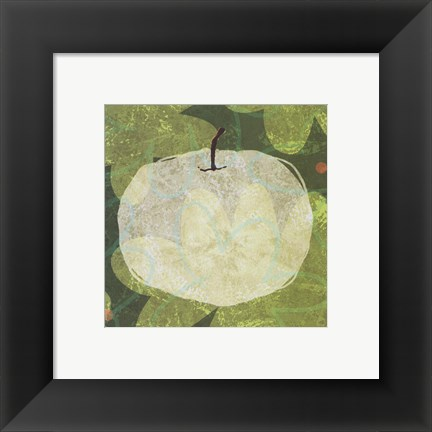Framed Mod Apple Print