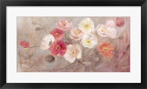Framed Wild Poppies II Print