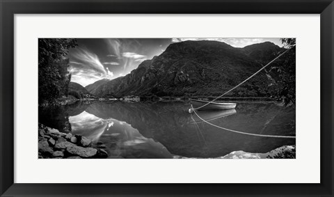 Framed Norway 7 Print