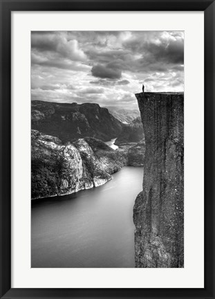 Framed Norway 9 Print