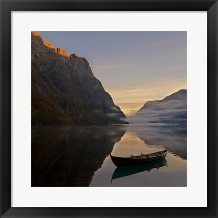 Framed Norway 10 Print