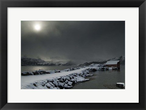 Framed Norway 11 Print