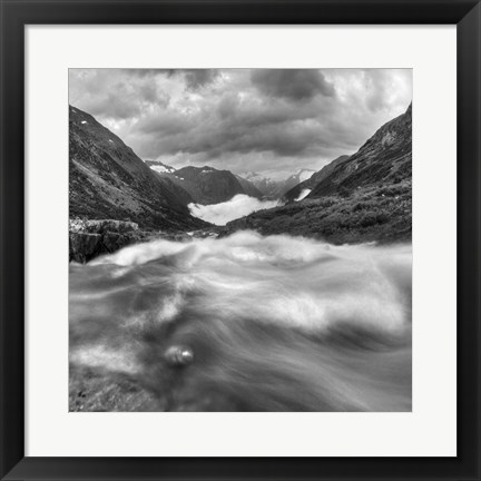 Framed Norway 13 Print