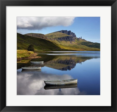 Framed Scotland III Print