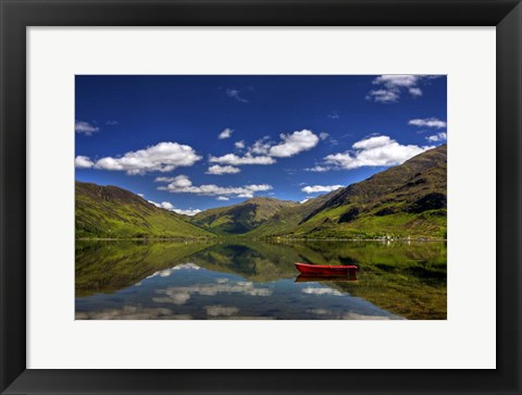 Framed Scotland IV Print