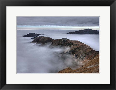 Framed In the Clouds Print