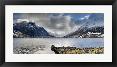 Framed Norway XXI Print