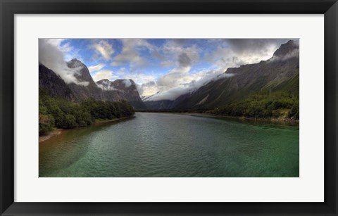 Framed Norway XXII Print