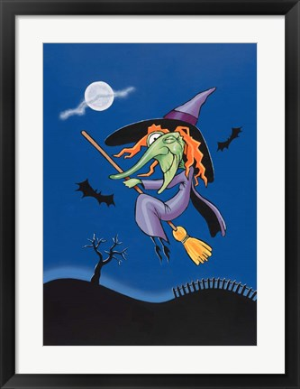 Framed Witch Print