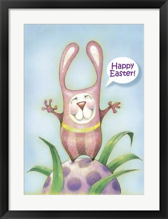 Framed Easter Costume Print