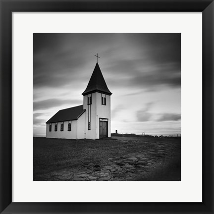 Framed Iceland Hellnar Church Print