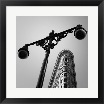 Framed NYC Flat Iron Print