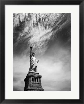 Framed NYC Miss Liberty Print