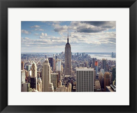 Framed NYC The Empire Print
