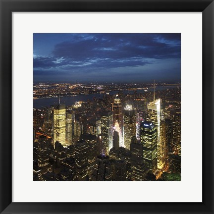 Framed NYC Times Square Print