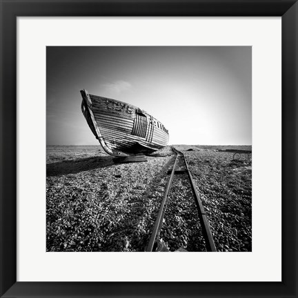 Framed Ship Wreck II Print