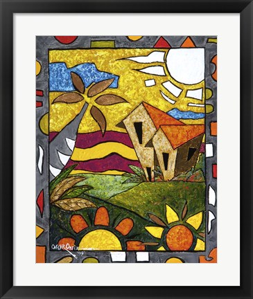 Framed In the Country II Print