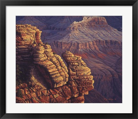 Framed Lofty Ledges Print