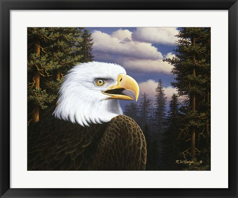 Framed Proud & Free Print