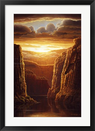 Framed Warm Reflections Print