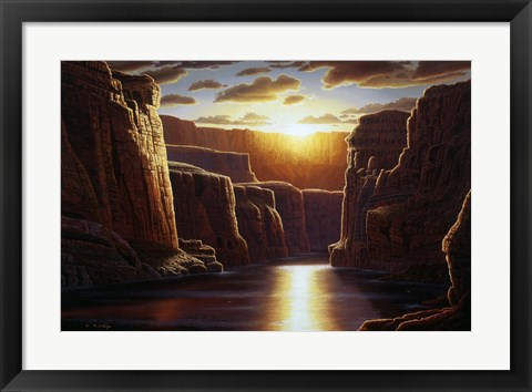 Framed Grand Sunrise Print