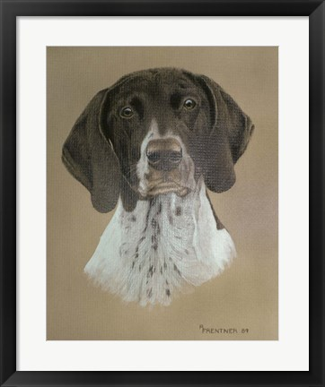 Framed Dog Two Print