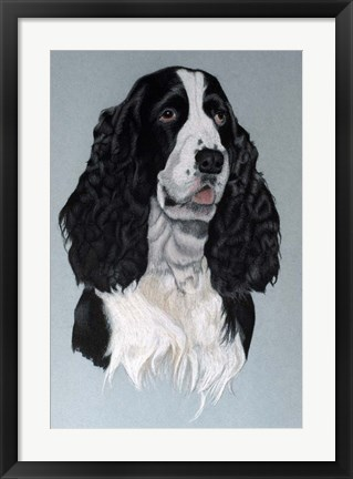 Framed Dog Three Print