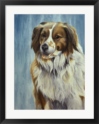 Framed Dog  Twelve Print