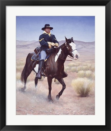 Framed Soldier Print