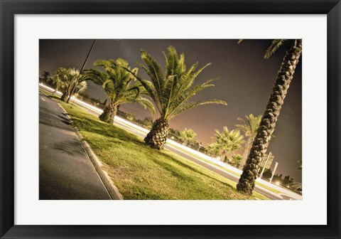Framed Summer Night Print