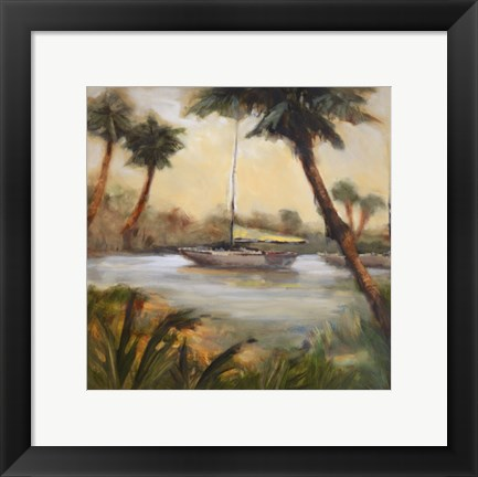Framed Palm Cove One Print