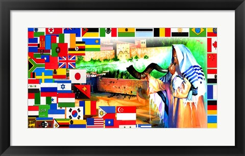 Framed Calling All Nations Print