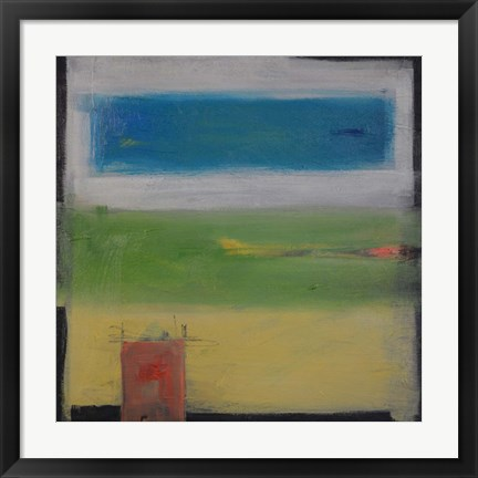 Framed Rural Abstract Print