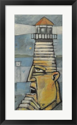 Framed Lighthouse Keeper Print