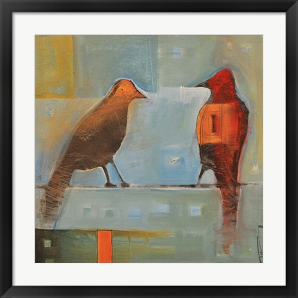 Framed Birds Know 2 Print