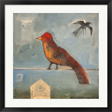 Framed Birds Know 4 Print