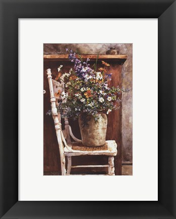 Framed Morning Arrangement Print