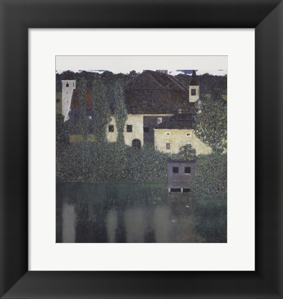 Framed Unterach Manor Print