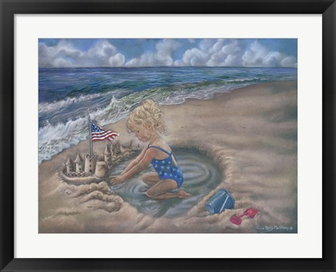 Framed From Seas To Shining Sea Print