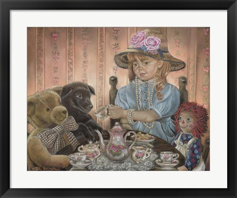 Framed Tea And Biscuits Print