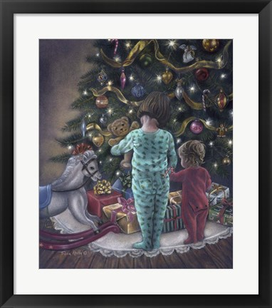 Framed Christmas Morning Print