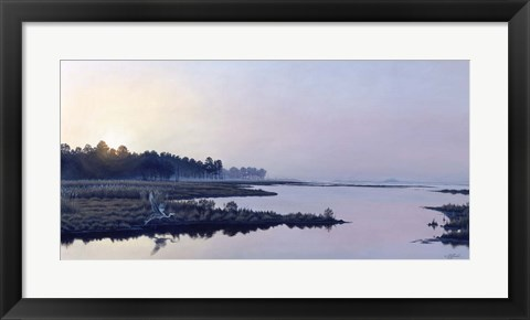 Framed Blackwater Sunrise Print