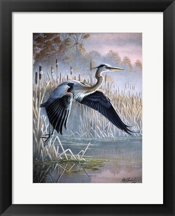 Framed Secluded Cove Print