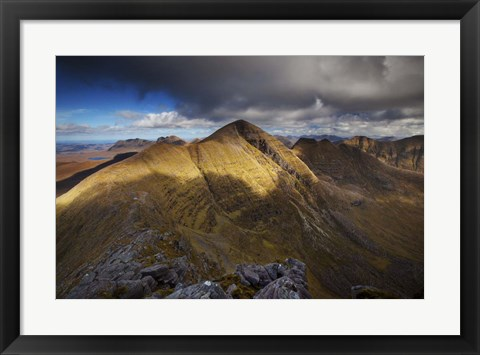 Framed Beinn Alligin Print