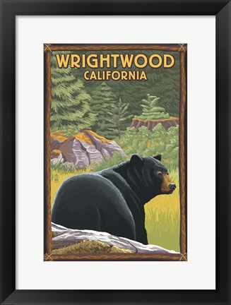 Framed Wrightwood Print