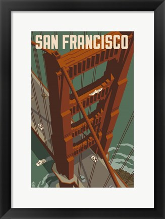 Framed San Francisco 1 Print