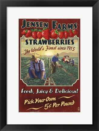 Framed Jensen Farms Print