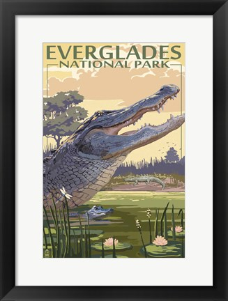 Framed Everglades 2 Print