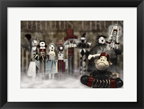 Framed Circus Family Print